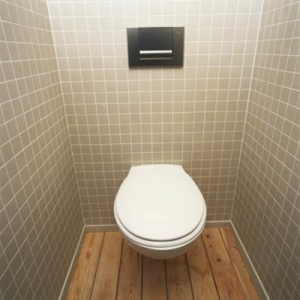 When staging a home for sale, close the lid!