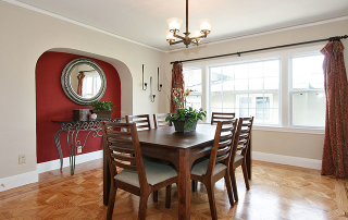 Selling My Home | Buying My Home | Oakland, Piedmont, Berkeley | Mavis Delacroix, Realtor. Dining room.